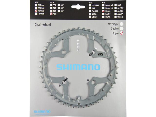 Shimano Deore FC-M591 Kettingblad Kettingblad, grey
